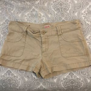 Mossimo tan cargo shorts